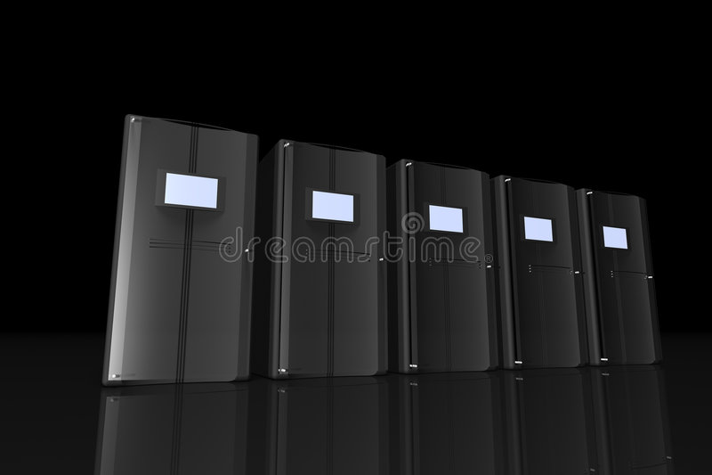 сервер комнаты бесплатная иллюстрация