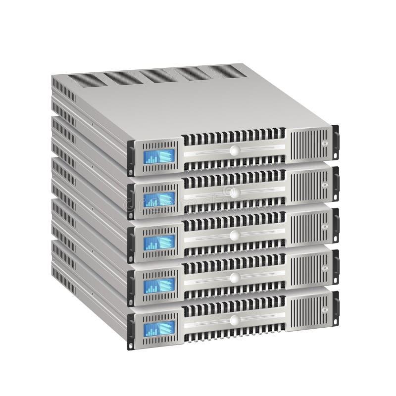Сервер иллюстрация вектора