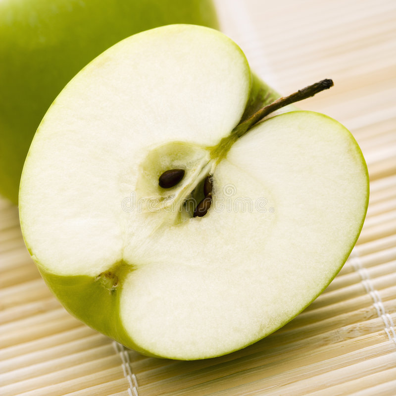 сердечник яблока стоковые фотографии rf