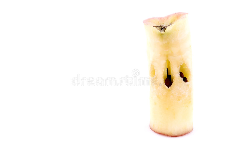 сердечник яблока стоковое фото