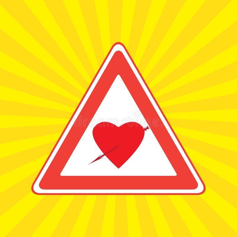сердечный знак иллюстрация штока
