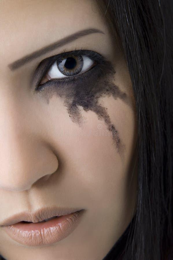 сердитая плача девушка стоковые фото