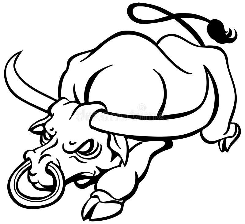 Картинки злой бык с кольцом
