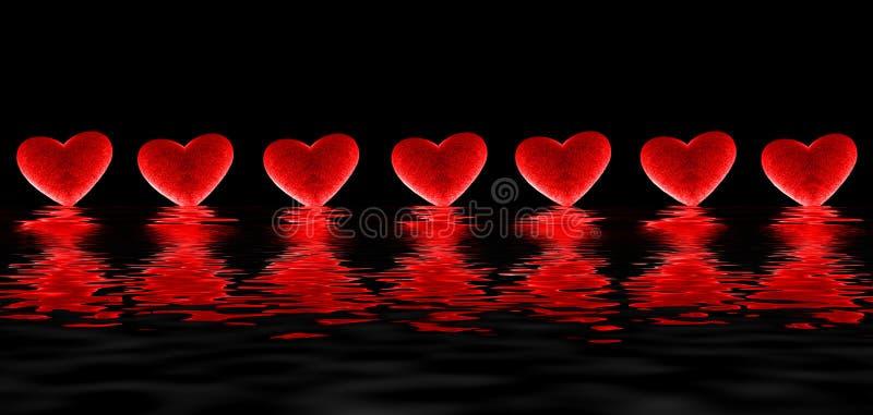 сердца кровотечения иллюстрация штока