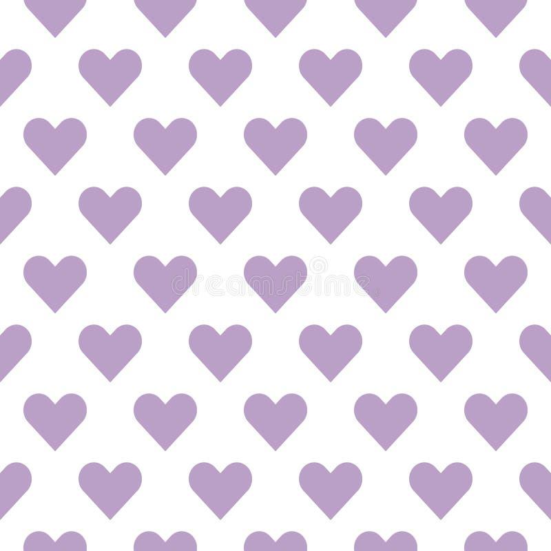 Сердца на день Валентайн s Романтичные чувство и любовь иллюстрация вектора