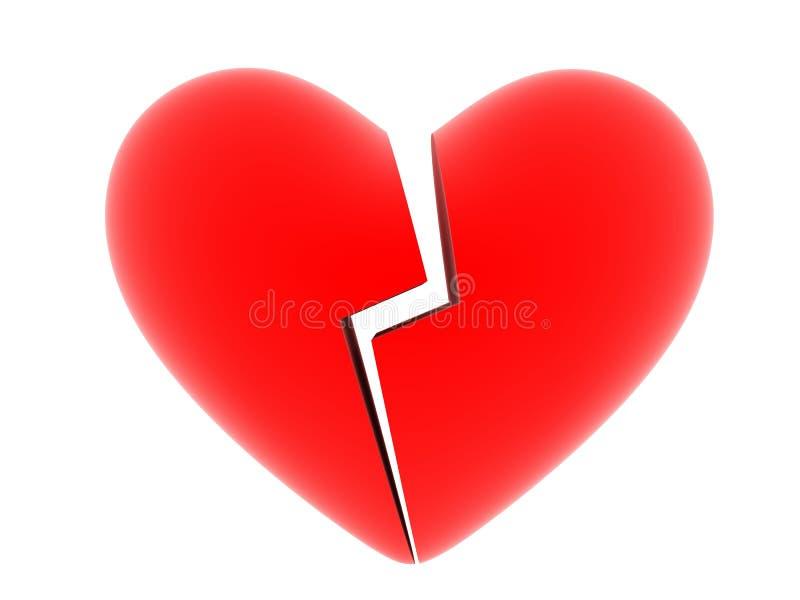 сердце аварии иллюстрация вектора