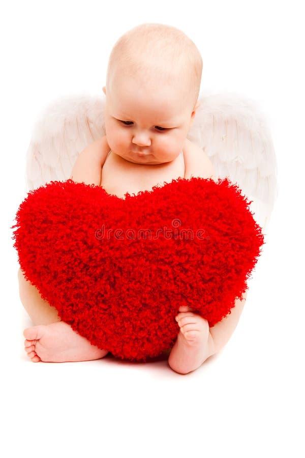сердце ангела стоковые изображения