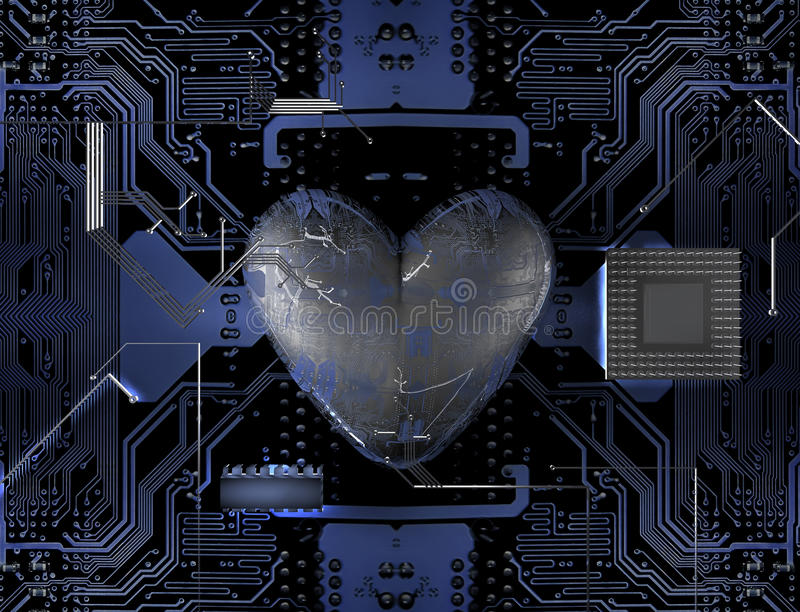 сердце бита иллюстрация вектора