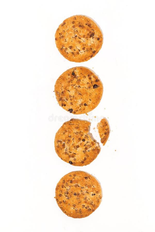 сердце вишни схематическое сделало томаты фото печенья овсяной каши обломока шоколада стоковое изображение rf