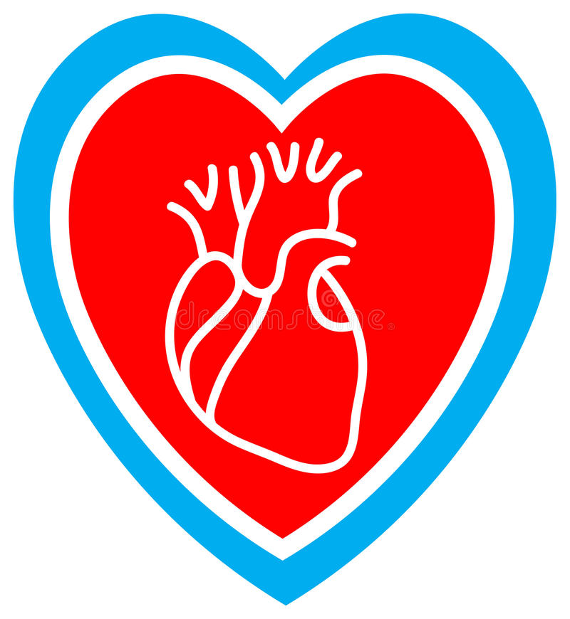 сердце внимательности бесплатная иллюстрация