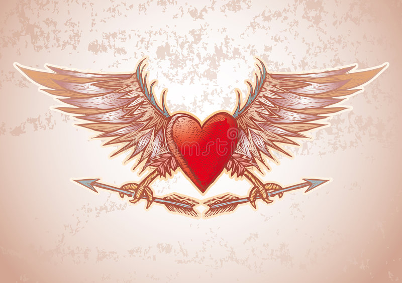 сердце гребеня бесплатная иллюстрация