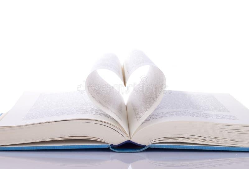 сердце книги стоковые изображения rf