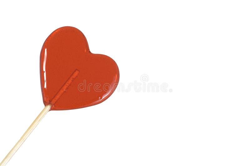 сердце конфеты сформировало стоковое изображение