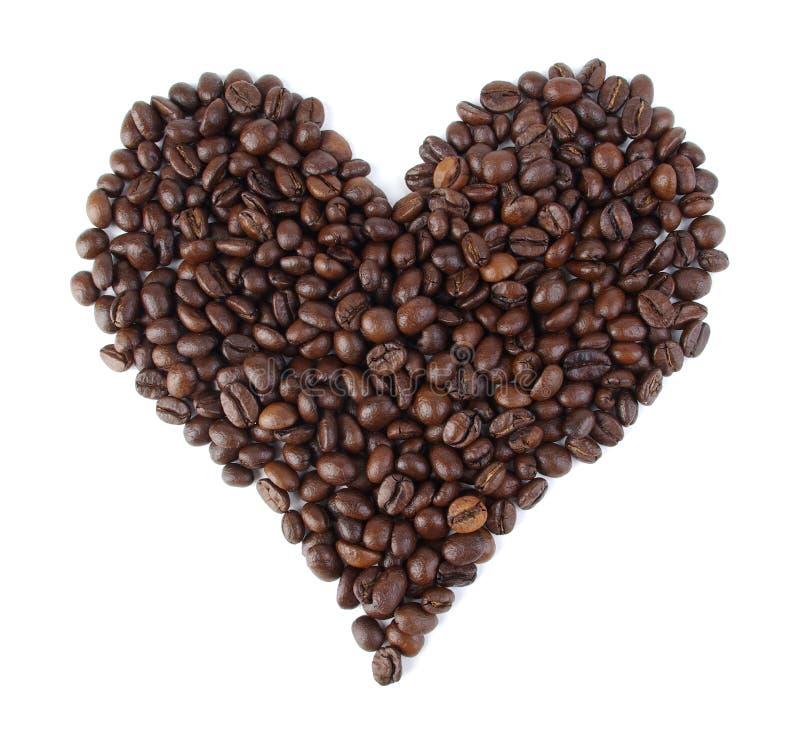 сердце кофе стоковые изображения