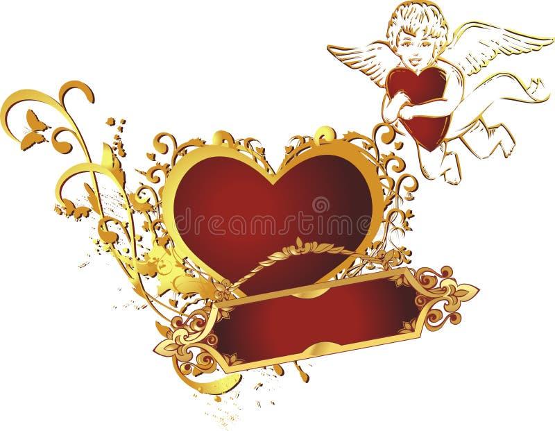 сердце купидона бесплатная иллюстрация