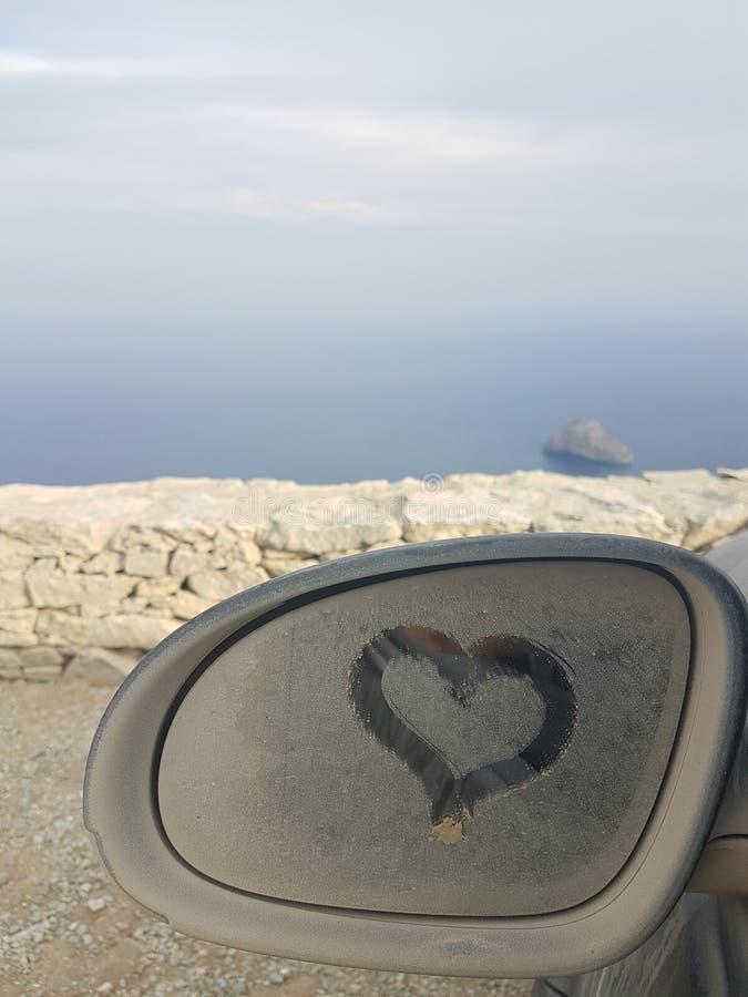 Сердце лета стоковое изображение