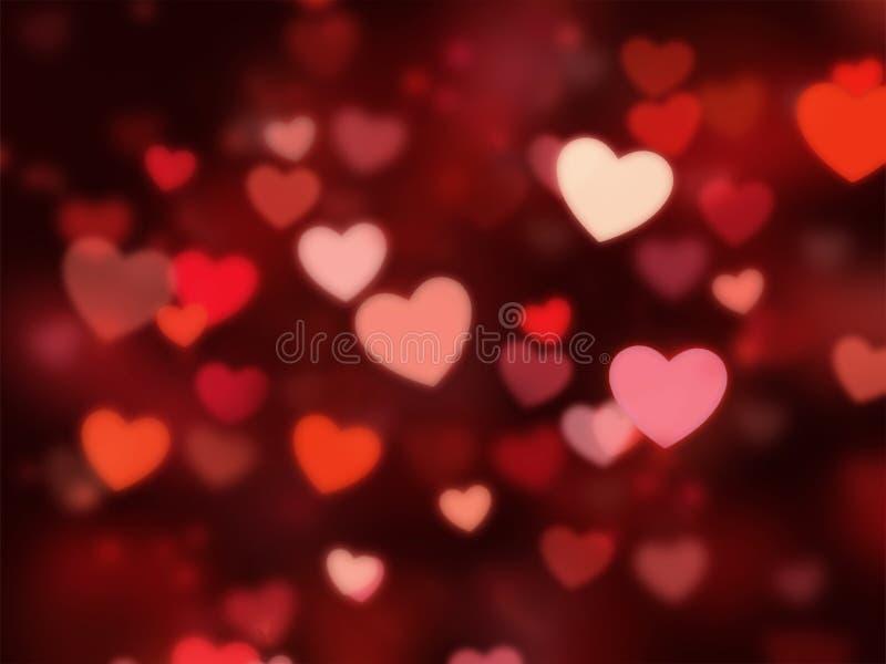 Сердце на красной предпосылке