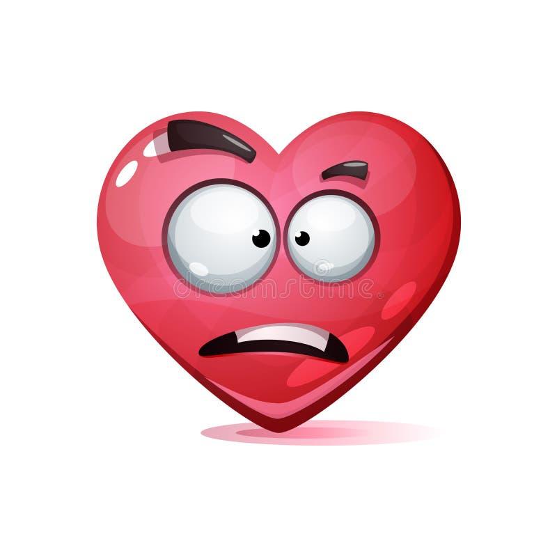 Сердце персонажа из мультфильма Smiley влюбленности бесплатная иллюстрация