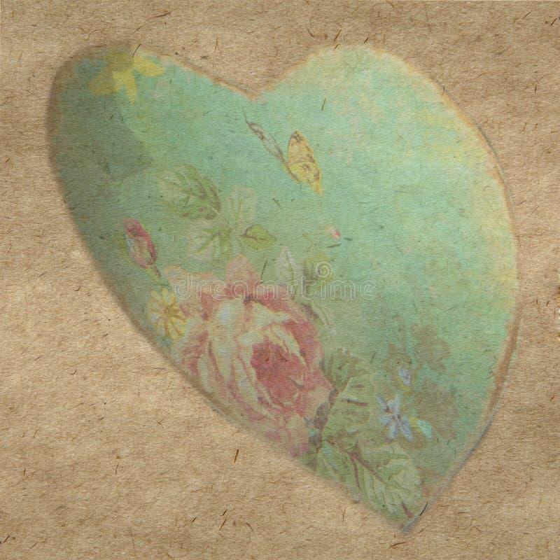 сердце подняло иллюстрация вектора
