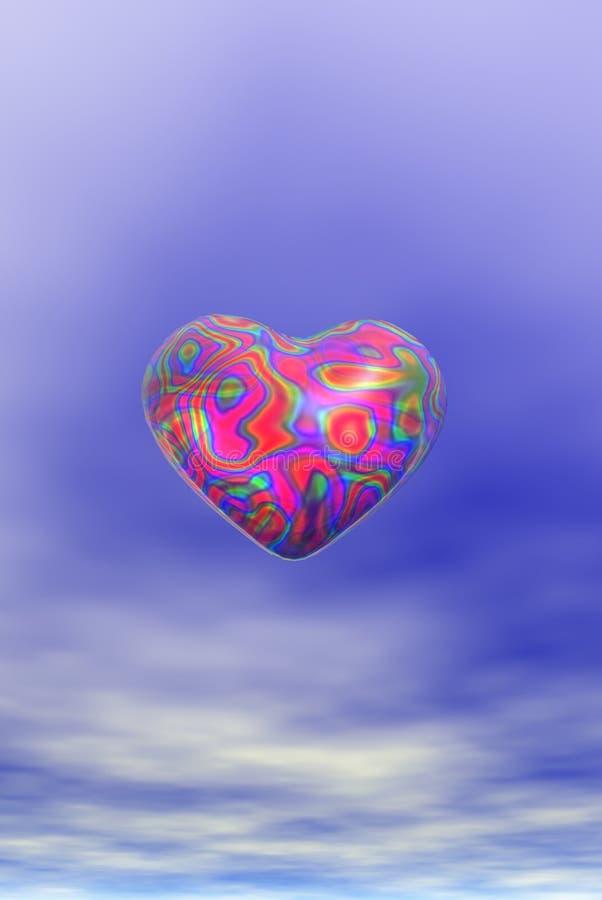 сердце представляет иллюстрация вектора