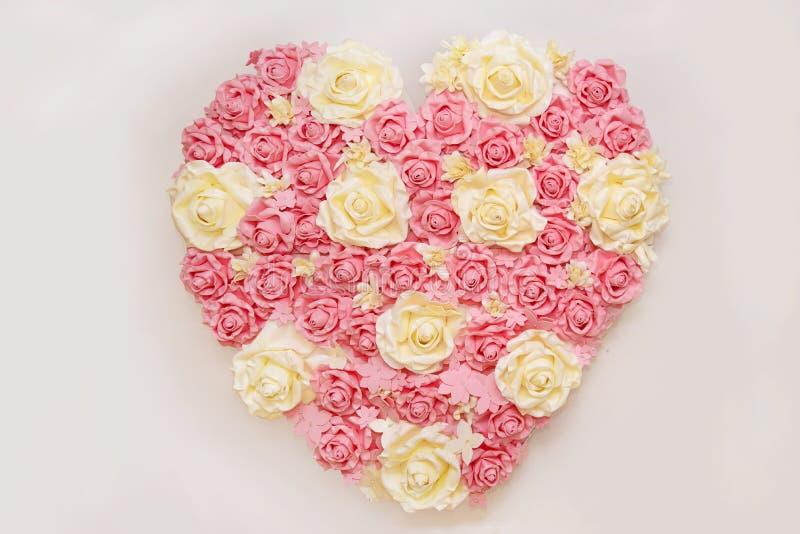 Сердце роз стоковое фото