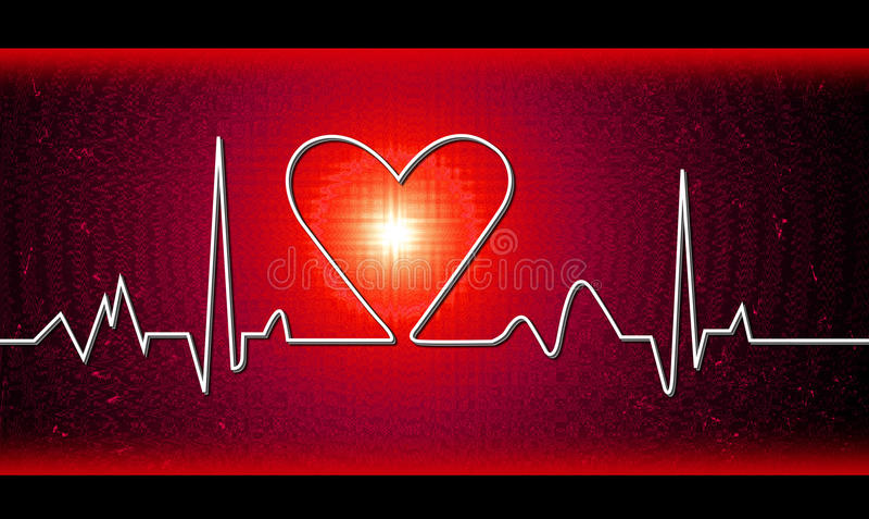 сердце удара бесплатная иллюстрация