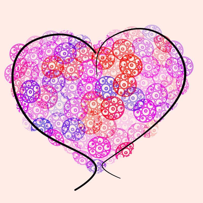 Download сердце иллюстрация штока. иллюстрации насчитывающей изолировано - 17615192