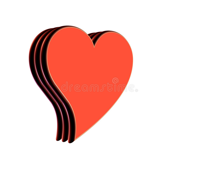 Download сердце иллюстрация штока. иллюстрации насчитывающей вычура - 486008