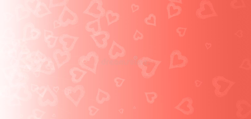 Сердце Bokeh на розовой предпосылке День валентинок и концепция влюбленности Живя тема коралла - цвет года 2019 стоковое фото