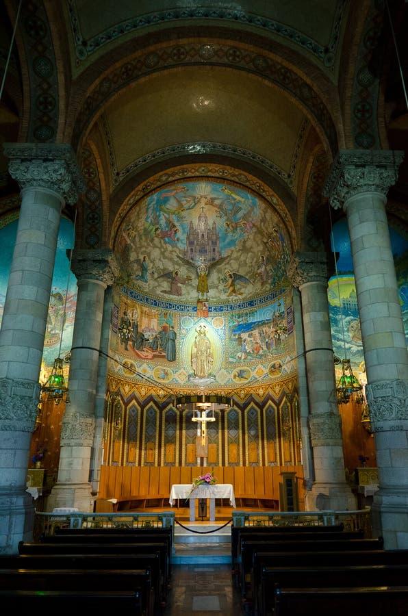 сердце jesus церков искупительное священнейший стоковое изображение