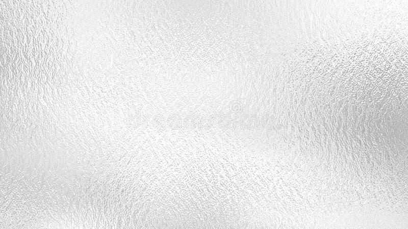 Серебряная предпосылка Текстура фольги металла декоративная стоковое фото rf