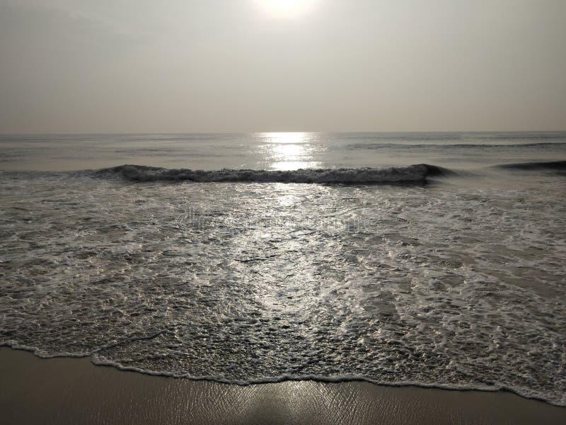 Серебряное море стоковые изображения
