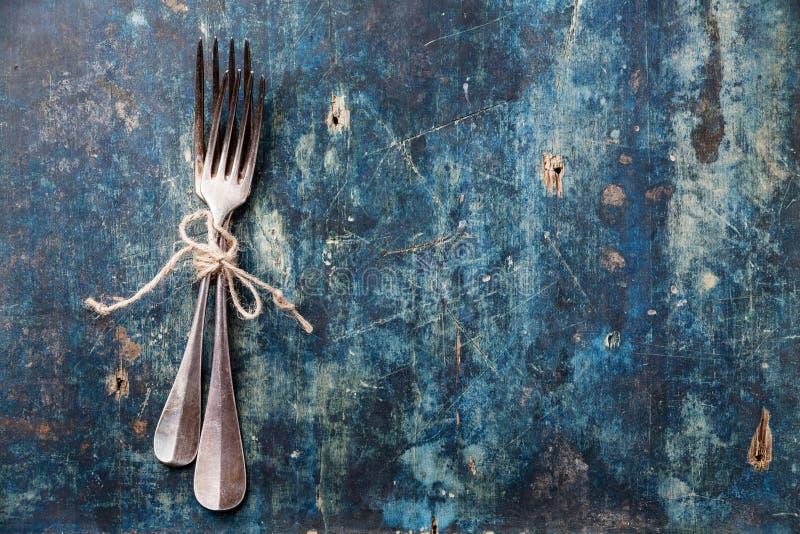Download Серебряные вилки стоковое фото. изображение насчитывающей bluets - 33725996