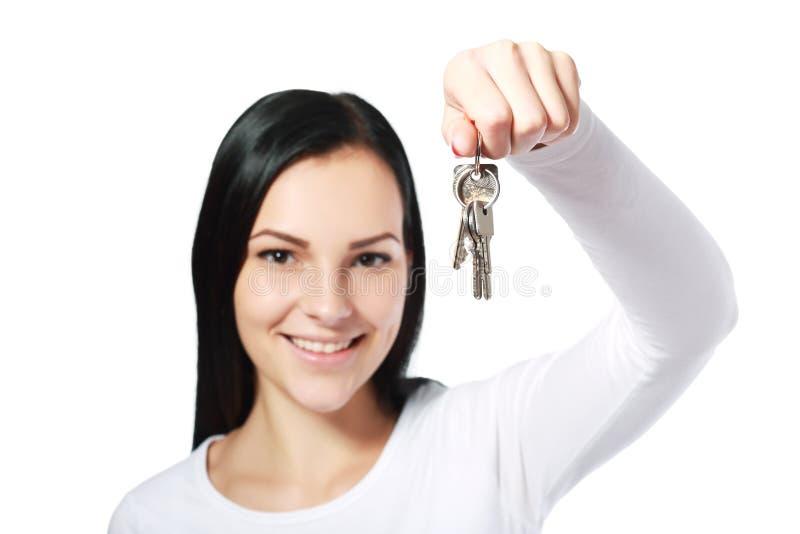 Серебряные ключи стоковое фото rf