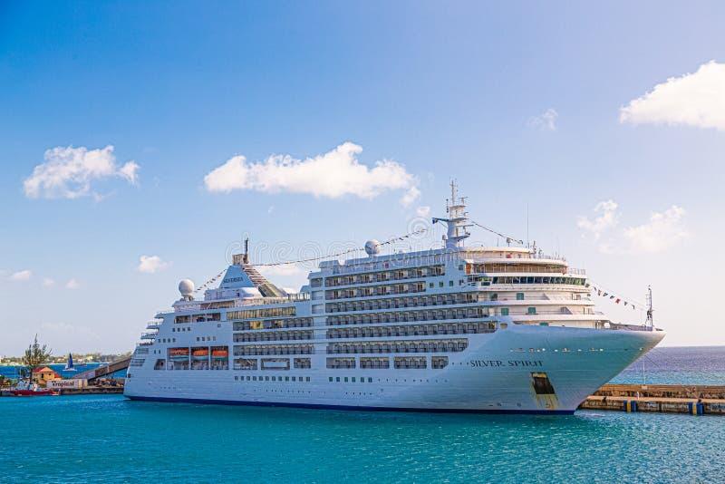 Серебряный дух в Барбадос стоковое изображение