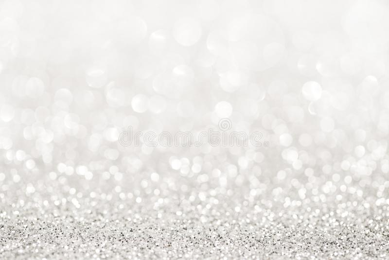 Серебряный свет яркого блеска стоковая фотография