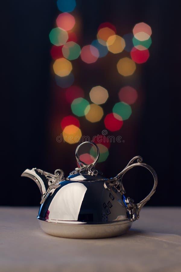 Серебряный Tableware стоковое изображение