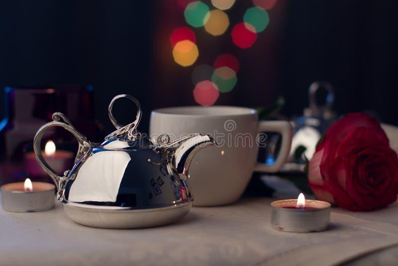 Серебряный Tableware стоковые фото