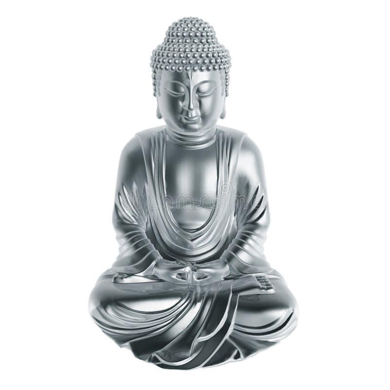 серебр Будды бесплатная иллюстрация