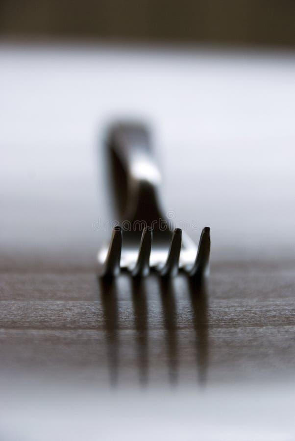 серебр вилки стоковая фотография rf
