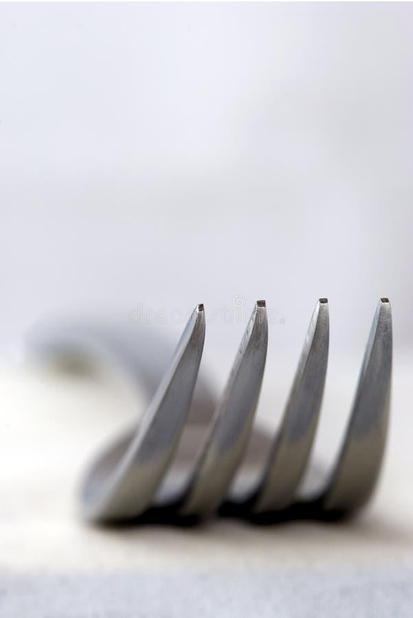 серебр вилки стоковое фото rf