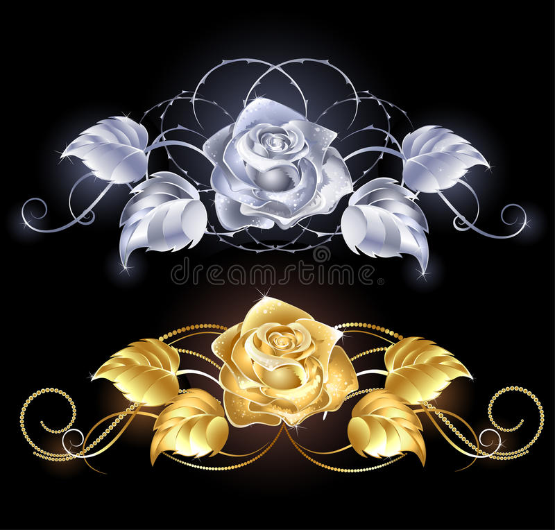 серебр золота розовый