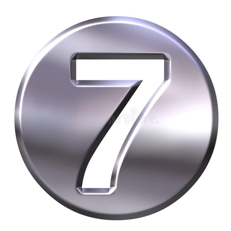 серебр кадр номера 7 бесплатная иллюстрация