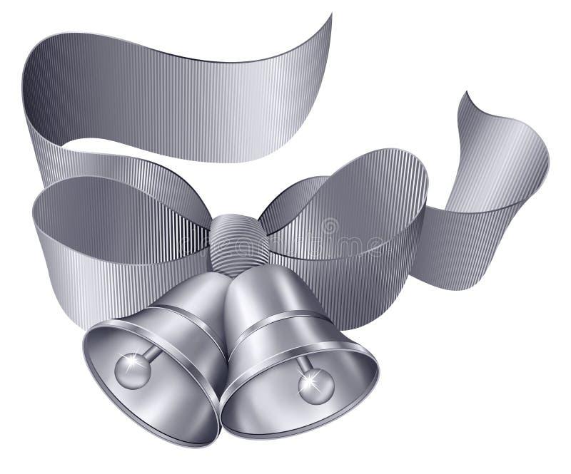 серебр колоколов бесплатная иллюстрация