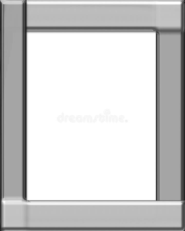 серебр рамки иллюстрация штока