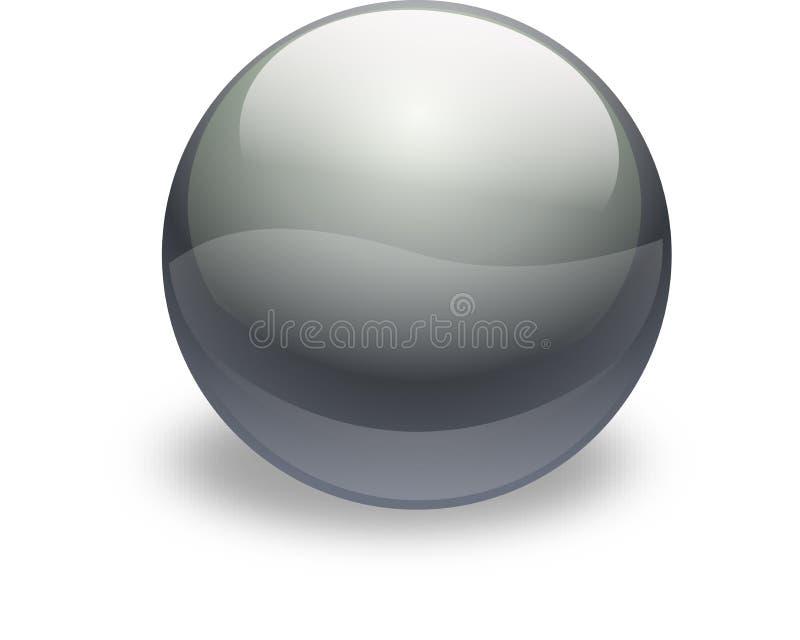серебр стекла кнопки бесплатная иллюстрация