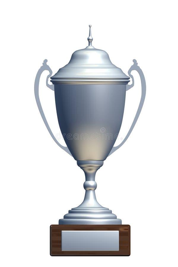 серебр чашки иллюстрация вектора