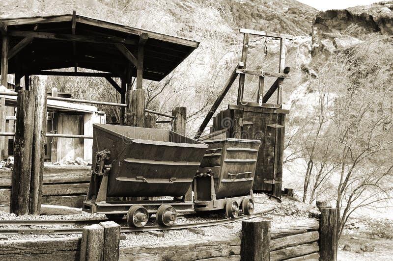 серебр шахты стоковые фото