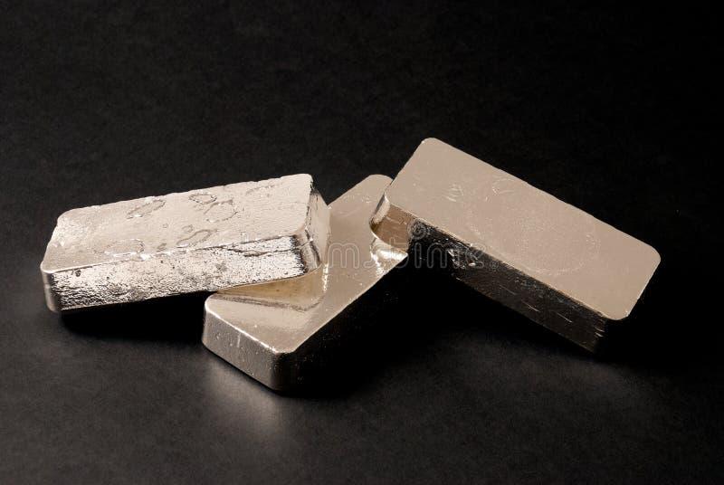 серебр штанг стоковая фотография rf