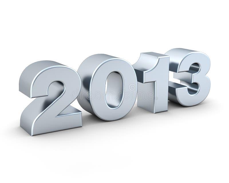 Серебр 2013 стоковое фото rf